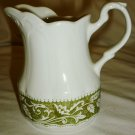 VINTAGE J7G MEAKIN COLONIAL ENGLISH IRONSTONE STERLING RENAISSANCE CREAMER ENGLAND