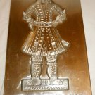 GINGERBREAD MAN MOLD COLONIAL WILLIAMSBURG BAKE SHOP ART VIRGINIA METALCRAFTERS