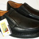 BRAND NEW SPRING STEP BLACK COMFORTABLE CUSHIONED MAN SLIP-ON SHOES sz10
