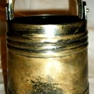 RARE ANTIQUE 19TH CENTURY RUSSIA IMPERIAL MOROZOV 84 SOLID SILVER PILE BUCKET 405g