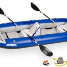 Sea Eagle 380X Delux Kayak Package Includes Seats Paddles and Pump (FREE SHIPPING)