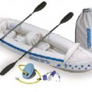 Sea Eagle 330 PRO Inflatable Kayak includes seats paddle and pump (FREE SHIPPING)