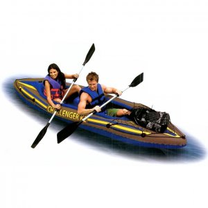 Intex Challenger Kayak Kit K2, 2 Person, Gear Net (FREE SHIPPING)