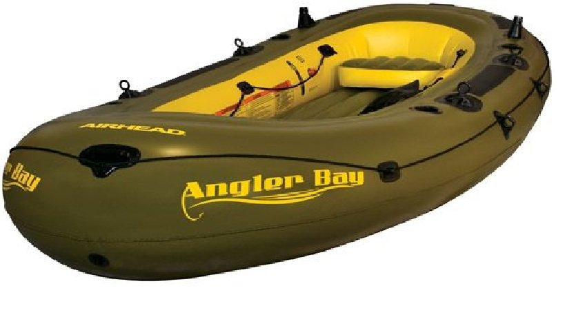 AIRHEAD ANGLER BAY Inflatable Boat 6 Person (FREE SHIPPING)