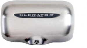 Xlerator Hand Dryer Model XL-SB  (FREE SHIPPING) BRUSHLESS STAINLESS STEEL COVER