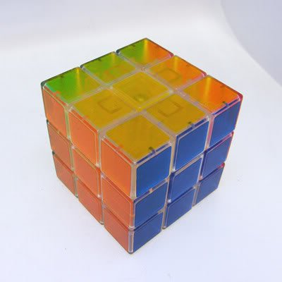 Hot 3x3x3 Crystal Rubick Rubic Rubix Magic Cube Competitive Puzzle Game Toy