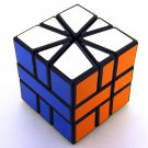 5.5cm SQ1 Smooth Competitive Rubic Magic  Cube Puzzle Toy Black Body Gift Game