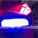 DHL Free Shipping Red 36W CCFL LED UV Gel Nail Art Lamp Nail Dryer Curing Light Professional  Salon