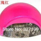 DHL Free shipping Rose 12W CCFL LED UV Gel Nail Art Lamp Portable Nail Dryer Curing Home/Salon