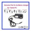 5V 2A AC Adaptor Adapter Power Supply wall Charger For Cyclone Voyager 7inch Android Tablet PC