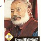 Ernest Hemmngway - Novelist - 2009 Topps heritage Card # 10