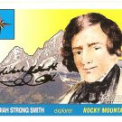 Jedediah Strong Smith - Explorer - 2009 Topps Heritage Card # 16