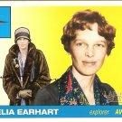Amelia Earhart - Explorer -2009 Topps Heritage Card # 19