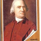 Samuel Adams -Revolutionary Hero 2009 Topps Heritage Card # 36