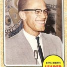 Malcom X - Civil Rights Leader 2009 Topps Heritage Card # 52