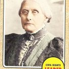 Susan B. Anthony - Civil Rights Leader 2009 Topps Heritage Card # 56
