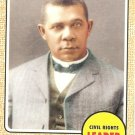 Booker T. Washington - Civil Rights Leader 2009 Topps Heritage Card# 59