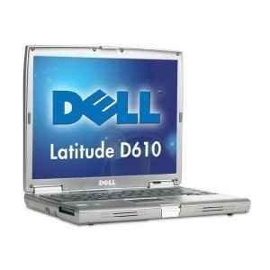 "Dell Latitude D610 Pentium M @ 1.86GHz Laptop - 14"" XGA LCD Screen"