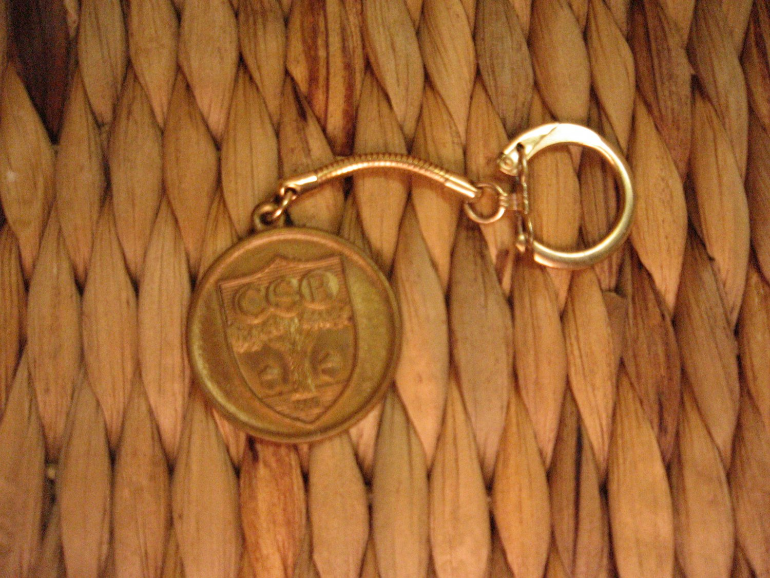 Vintage Community Savings Bank of Rochester New York Medal Fob  Key Chain