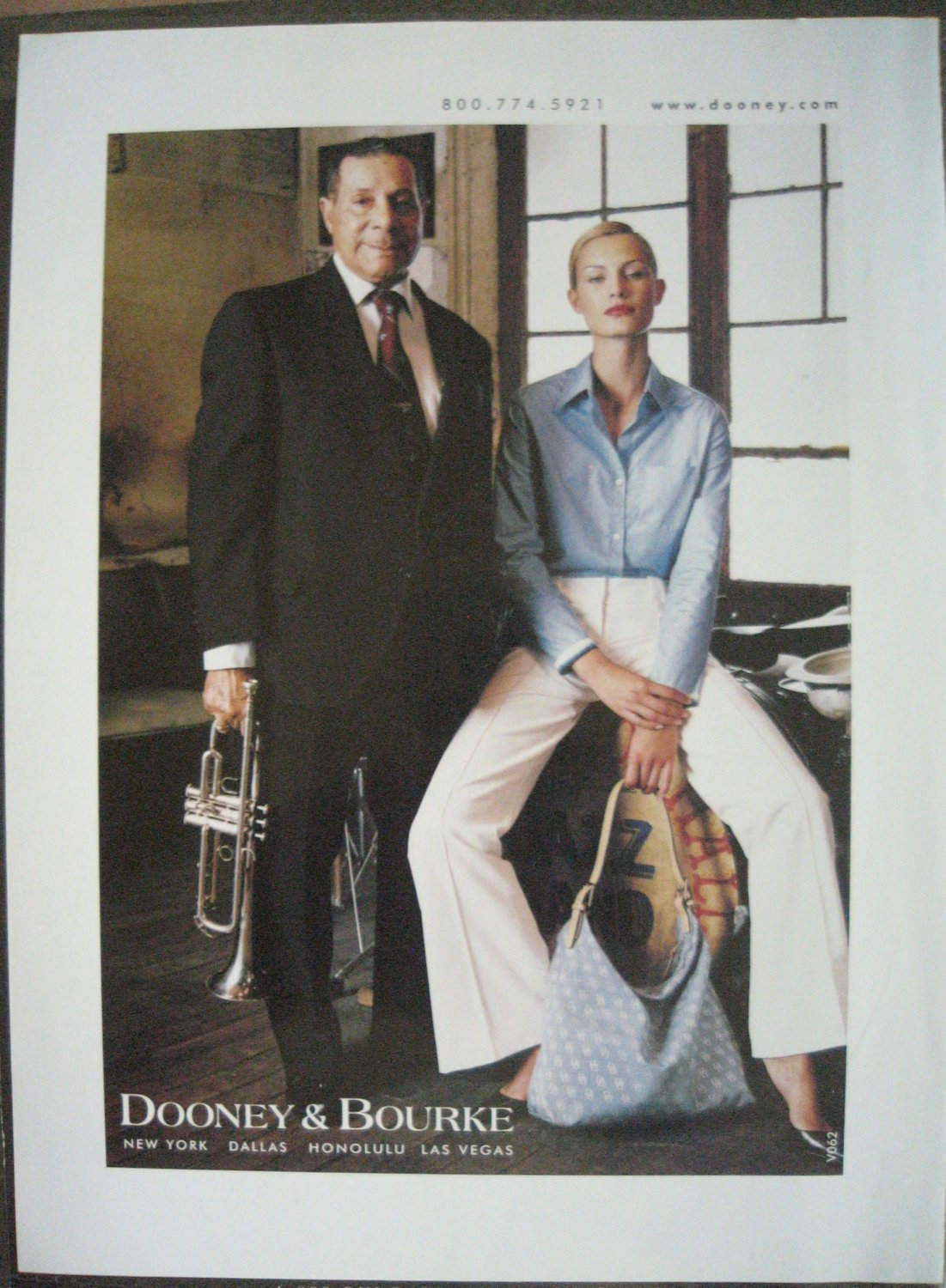 Ad Dooney and Bourke Sophie Nicolas Preservation Hall Jazz New Orleans with Musician