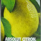 Lot Print Ads Absolut Lemon Bottle Subliminal and Cuervo Tequila Christmas Panasonic Retro Phone