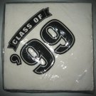 Vintage Class of '99 Party Napkins Sealed