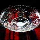 Lot of 3 Vintage Depression Glass Crystal Serving Pieces