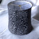 Unique Tapered Drum Lamp Shade with Mod Fabric Print