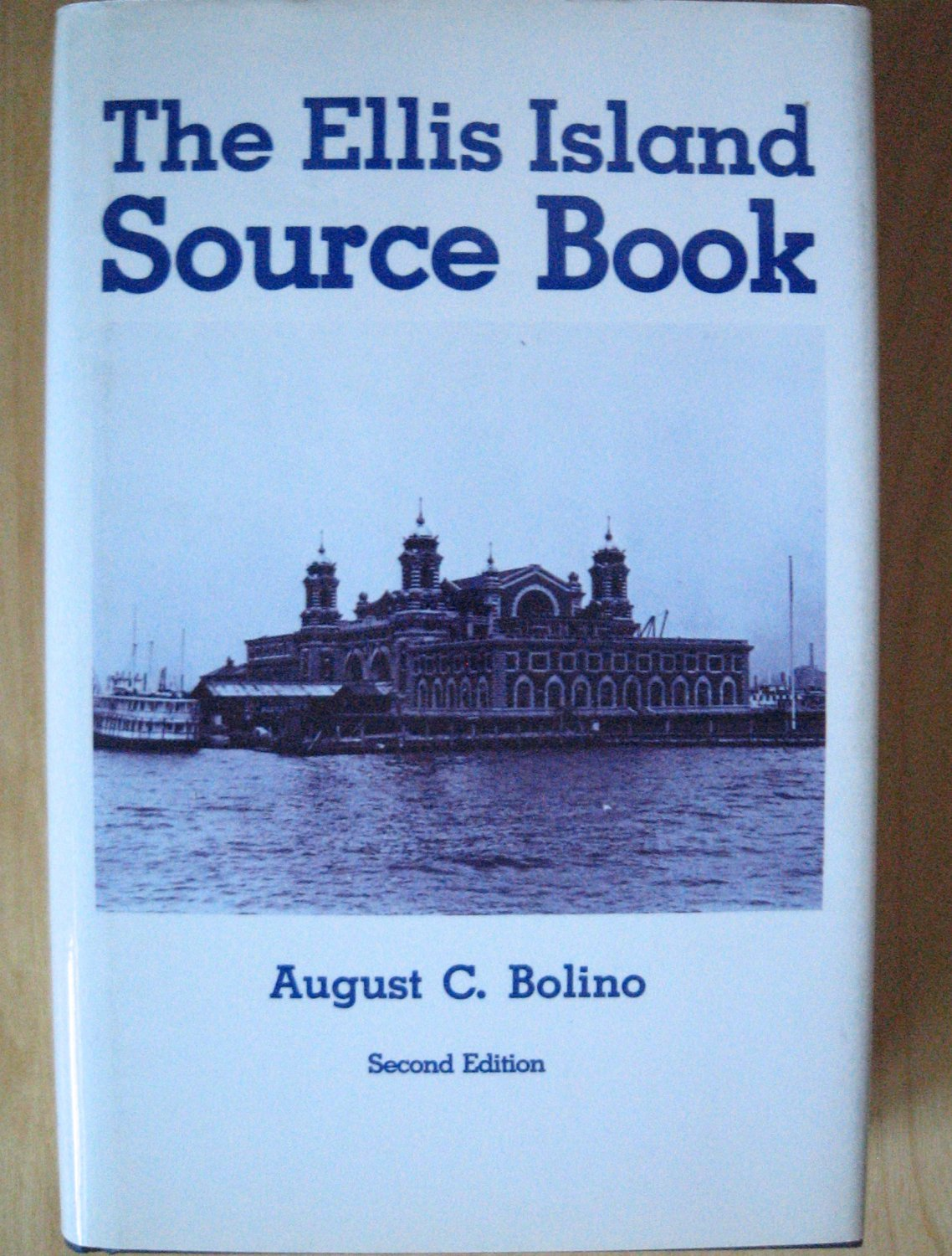 BOOK The Ellis Island Source Book HARD COVER Genealogy
