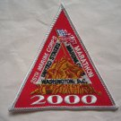 Marine Corps Marathon 2000 25th Anniversary Participant Runners Patch