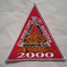 Marine Corps Marathon 2000 25th Anniversary Participant Runners Patch