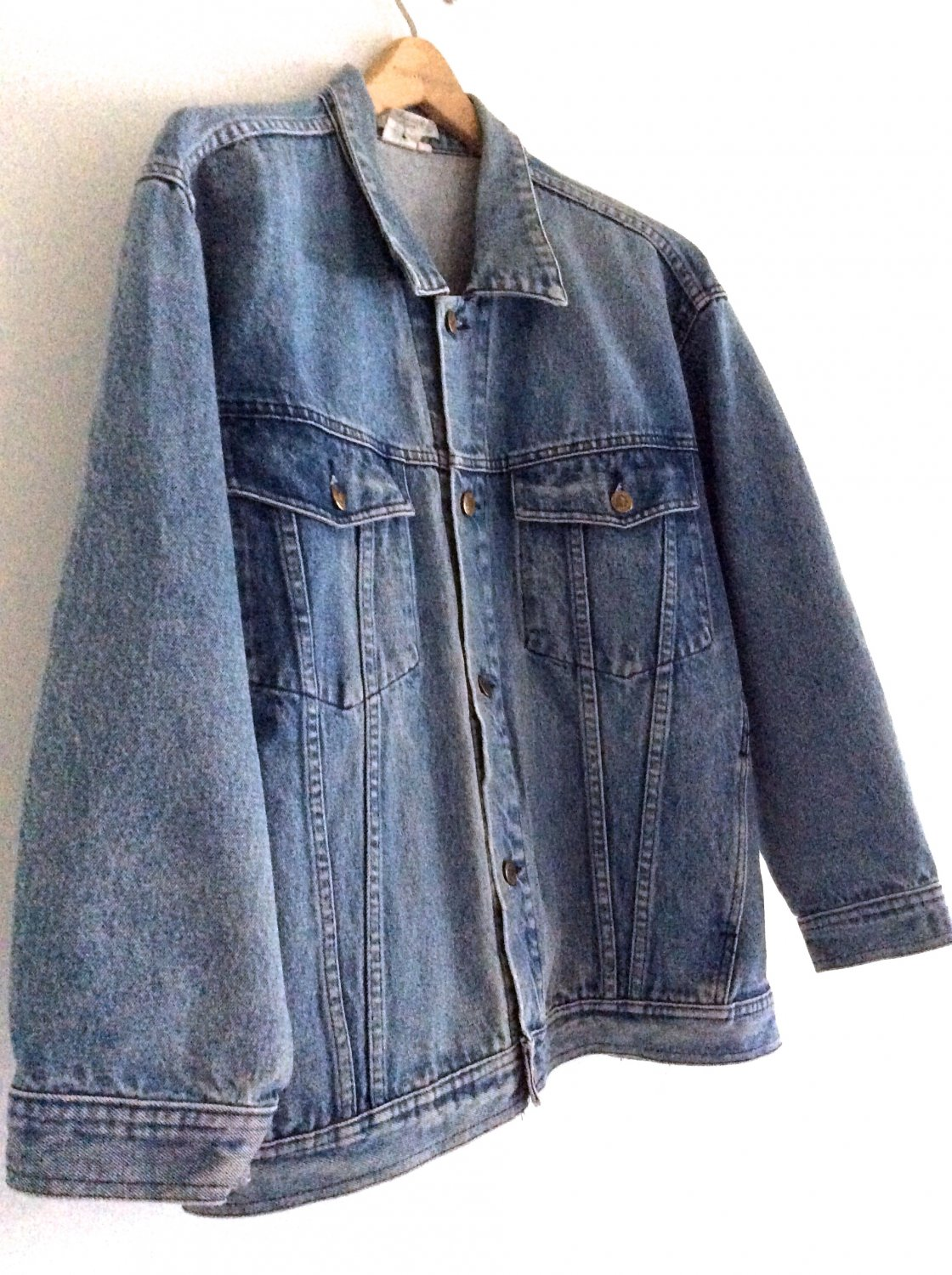 Vintage 80s Oversize Denim Jacket