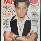 Vanity Fair Magazine November 2011 Johnny Depp Demons Tea Party Courtney Love WWII Secrets