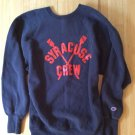 Syracuse University Rowing Sweatshirt Vintage Crew Team Top 90s Champion Reverse Weave