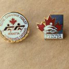 Rowng Canada Pins Royal Canadian Henley Regatta Crew Team 2 Lapel Hat Trading Pins 90s Sports