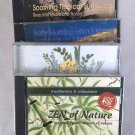 Music Lot of 5 CDs Relaxation Nature Sounds Meditation World Music Instant Collection