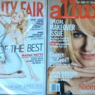 Lot 2 NAOMI WATTS Covers Back Issue VANITY FAIR Jan 2006 Catherine Deneuve ALLURE 2007