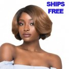 Outre Synthetic L-Parting Swiss Lace Front Wig ALEXA