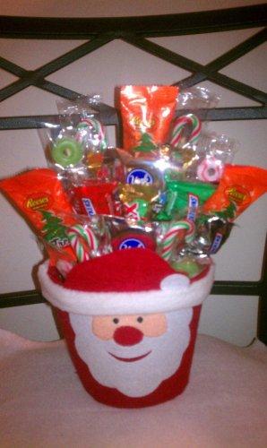 Santa Candy Bouquet