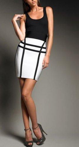 Cloverl Rachel Plaid Bandage Skirt  FREE GLOBAL SHIPPING