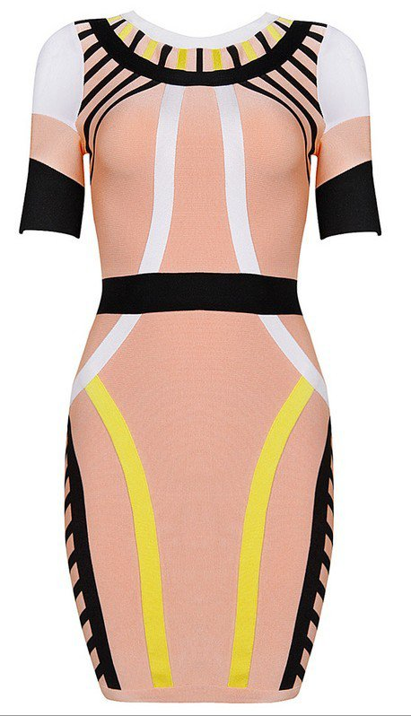 Cloverl Amy Bodycon Bandage Dress Free Global Shipping
