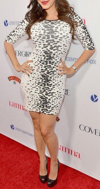 Cloverl Georgina Mid-Sleeve Bandage Dress Free Global Shipping
