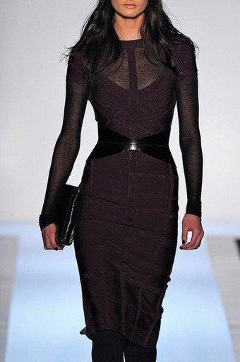Cloverl Olivia Long Sleeve Bandage Dress Free Global Shipping