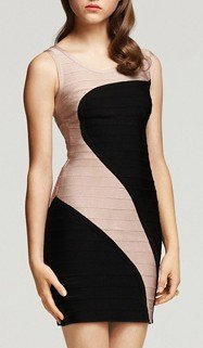 Cloverl Audrey Bandage Dress Free Global Shipping