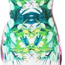 Cloverl Carmel Tropical Print Pencil Dress  Free Global Shipping