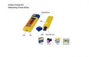 4GB Lighter DVR Mini DV Spy Hidden Camera Cam Camcorder