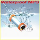 SWIMMER MP3 PLAYER WATERPROOF PORTABLE USB PLAYER WITH 2GB CARD & FM