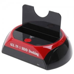 USB 3.0 SATA HDD Docking Station for 2.5-inch 3.5 inch SATA hard drives and SSD