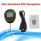 Mini GPS Receiver Tracker Location Camping Finder Keychain