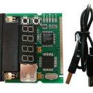Mini-PCI & LPT port 4 bit diagnostic post card - MOTHERBOARD TESTER - PROFESSIONAL TOOL